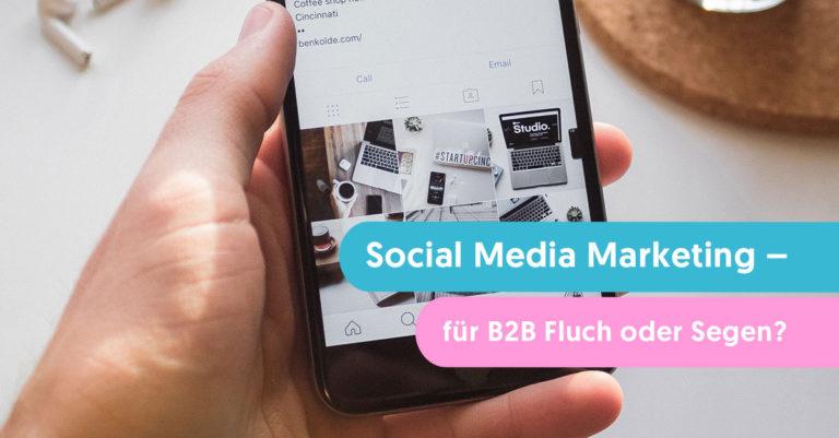 social media marketing fuer b2b