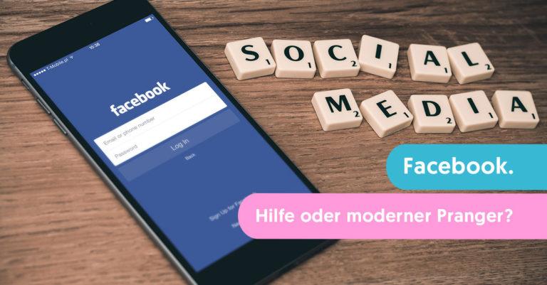 facebook hilf oder moderner pranger