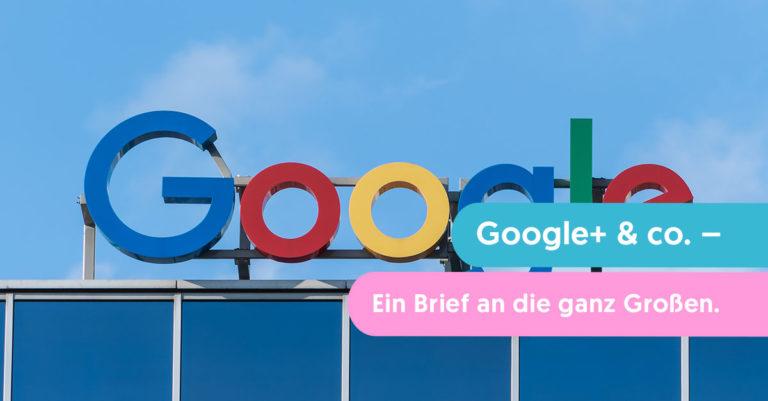 google+ meinung brief