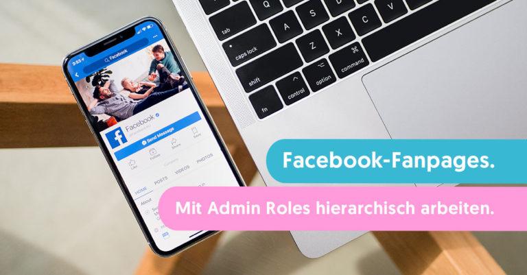 facebook fanpages rechte admin roles
