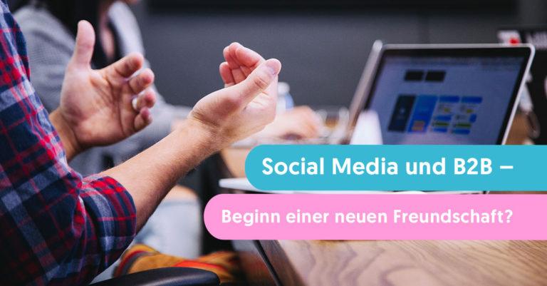 social media und b2b