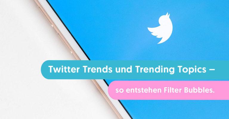 twitter trends und trending topics