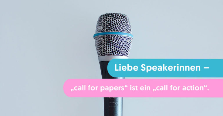 call for papers ist ein call for action