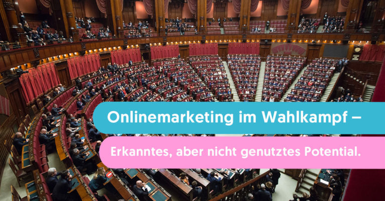 onlinemarketing in wahlkampf