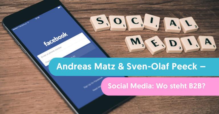 social media im b2b bereich