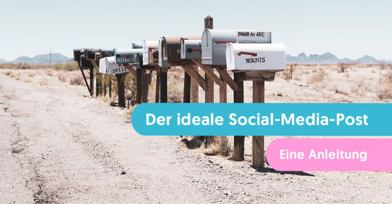 ideale Social-Media-Post