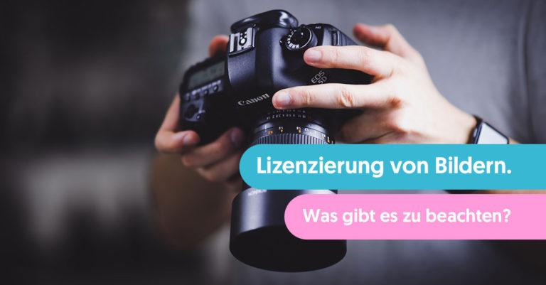 Lizenzierung von Bildern