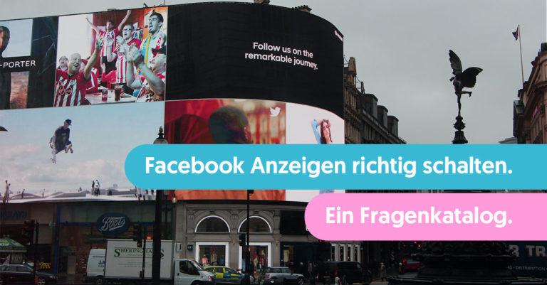Headerbild Facebook Ads richtig schalten