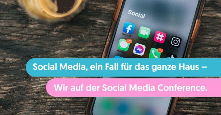 Social Media: B2B-Marketing / Vortrag auf der Social Media Conference