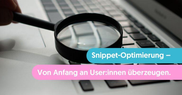 SEO-Snippet-Optimierung